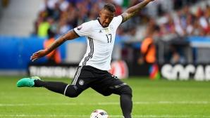 Боатенг е доволен от първия си гол с националната фланелка на Германия