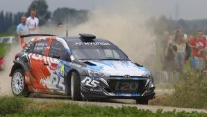 """Новото поколение i20 R5 на Hyundai Motorsport грабна вниманието на рали """"Ипър"""""""