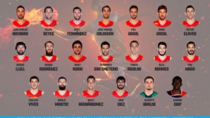 Испания започна подготовка за Рио с 20 играчи