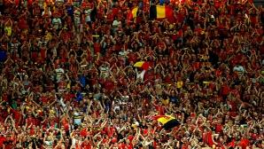 УЕФА глоби белгийската федерация заради поведението на феновете