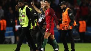 УЕФА няма да предприема действия срещу Португалия заради селфито на Роналдо