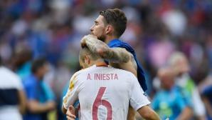 Иниеста: Италианците ни превъзхождаха