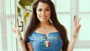 Алесия Макари стиска палци за Италия