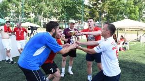 Студенти спечелиха шампионата на България по стрийт футбол