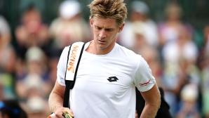 Смъртни заплахи към тенисист след загуба в Лондон