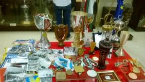 Най-ценните трофеи на Васил Симов украсиха Музея на спорта