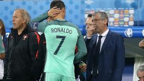 Сантош: Роналдо знае как да се справя с напрежението