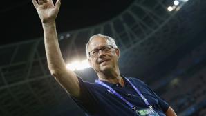 Лагербак не ще да води Англия
