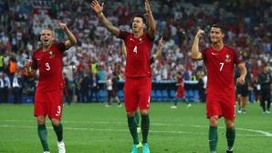 Португалия изхвърли Полша от Евро 2016 с дузпи (видео)