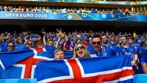 Исландският президент ще гледа четвъртфинала в сектора с фенове