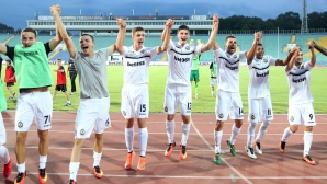 ЦСКА поздрави Славия
