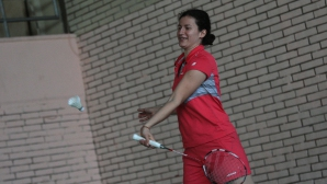 Линда Зечири на полуфиналите в Калгари