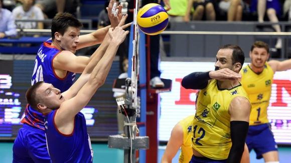 Сърбия се цели в първа титла в Световната лига, Бразилия в 10-а!