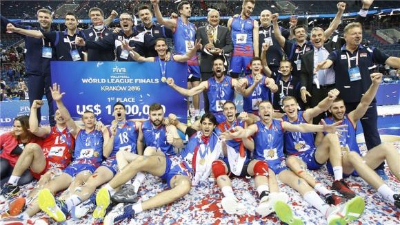 Сърбия с историческа първа титла в Световната лига (ВИДЕО)