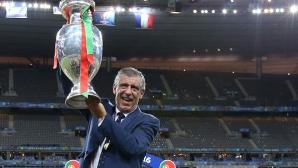 Фернандо Сантош остава начело на Португалия до Евро 2020