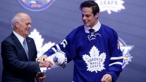 Торонто привлече номер 1 от драфта на новаците в НХЛ