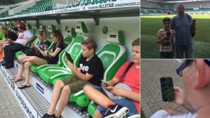 """Волфсбург отвори вратите на стадиона си заради манията """"Покемони"""""""