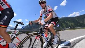 Том Дюмулен прекрати участие в Тур дьо Франс