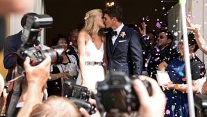 Марио Гомес избяга от Турция и се ожени