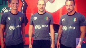 Трима нови футболисти подсилиха Литекс