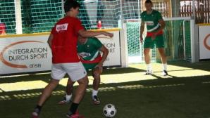 България се класира за 1/4-финалите на европейското по стрийт футбол