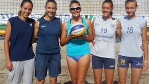 Двойките на Марица се класираха за полуфиналите на турнира по плажен волейбол в Кърджали