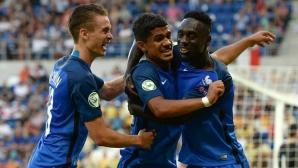 Франция разгроми Италия във финала на Евро 2016 (U19)