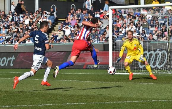 Атлетико Мадрид се изложи срещу австралийци (видео)