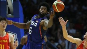 САЩ разбиха Китай с 49 точки разлика във втората си контрола преди Олимпиадата