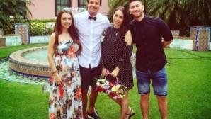 Дъщерята на Стоичков се омъжи в черна рокля! Вече е с фамилия Рамадан