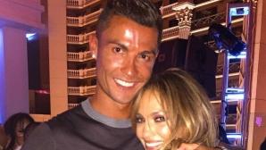 Кристиано купонясва с Джей Ло в Лас Вегас