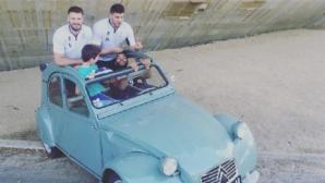 Звездите на Франция с нов кабриолет!