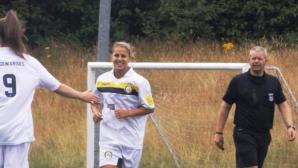 Симона Петкова заби първите си два гола в Англия