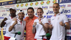 Боксьорите ни с амбиции да спечелят медали на олимпиадата в Рио (галерия)
