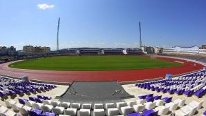"""Стадион """"Ивайло"""" с нова озвучителна система, правят зала за пресконференции"""