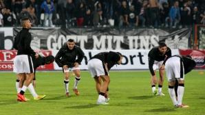 Локомотив (Пловдив) тренира разделен на две групи преди градското дерби