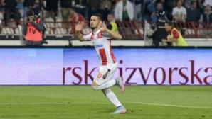 Цървена звезда загря за реванша с Лудогорец с първа победа в първенството