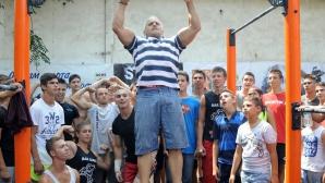 Йордан Йовчев учреди първия клуб по стрийт фитнес (видео)