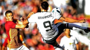 Ибра започна ударно, Юнайтед разби Галатасарай (видео+галерия)