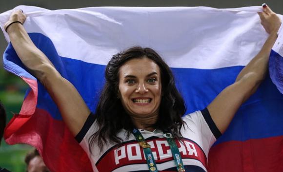 МОК утвърди Исинбаева за член на комисията на спортистите