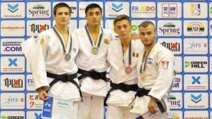 Титла, сребро и бронз за българските джудисти на Европейската купа в Плоещ
