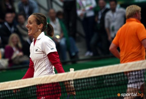 Маги Малеева ще участва на държавното отборно първенство по тенис
