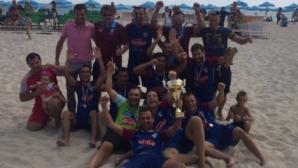 МФК Спартак (Варна) спечели титлата по плажен футбол