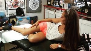 Нина Рангелова се сдоби с татуировка