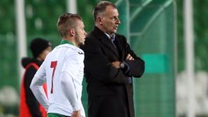 Сериозни проблеми за Антони Здравков преди мача с Армения