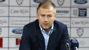 """Едуард Йорданеску пристигна на стадион """"Българска армия"""""""