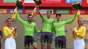 Белгиец спечели петия етап на Вуелтата