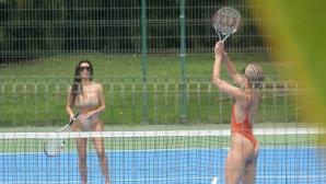 Кой иска да поиграе тенис по бански с Ким Кардашян?