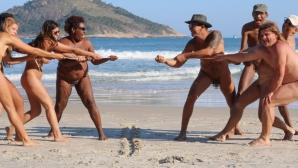 Нудисти си спретнаха гола Олимпиада в Рио