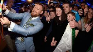 Бар в Дъблин изригна при победата на Макгрегър в UFC 202